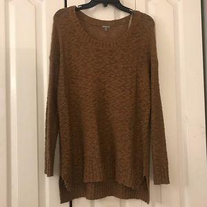Light Brown Knit Sweater